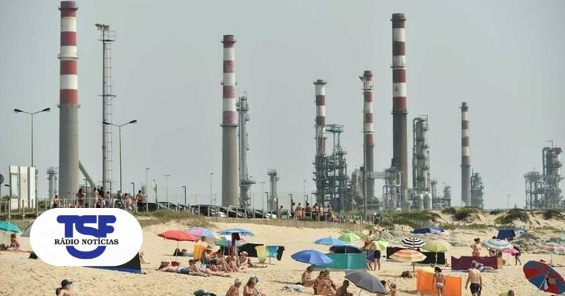Descarga poluente em praia de Matosinhos veio da refinaria - TSF Online