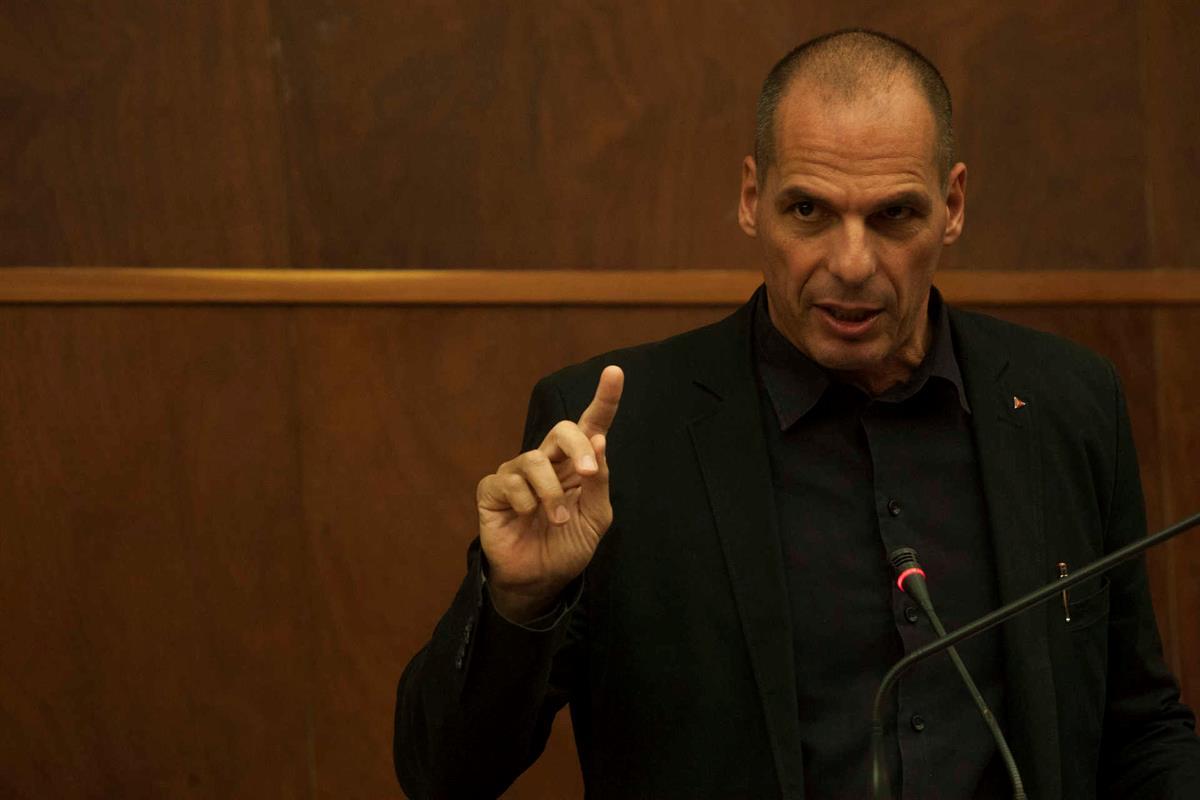 Yanis Varoufakis in 2015