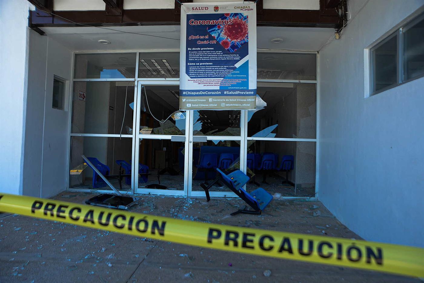Hospital vandalizado no México após rumores de contaminação ...