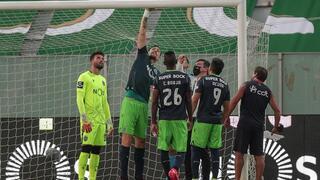Halliche vê cartão vermelho direto. Moreirense 0-0 Sporting (2.ª parte)