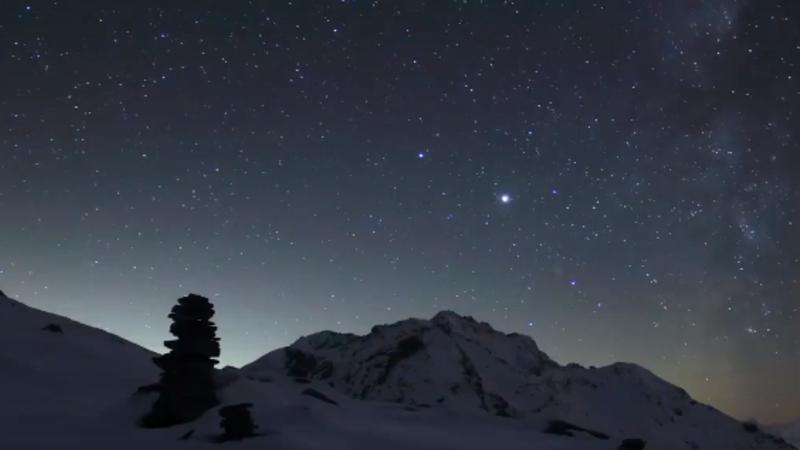 A NASA recomenda encontrar uma visão clara do evento astronômico 45 minutos após o pôr do sol