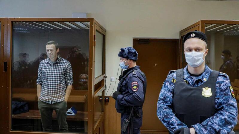 Los ministros de Asuntos Exteriores europeos exigen la liberación de Alexei Navalny