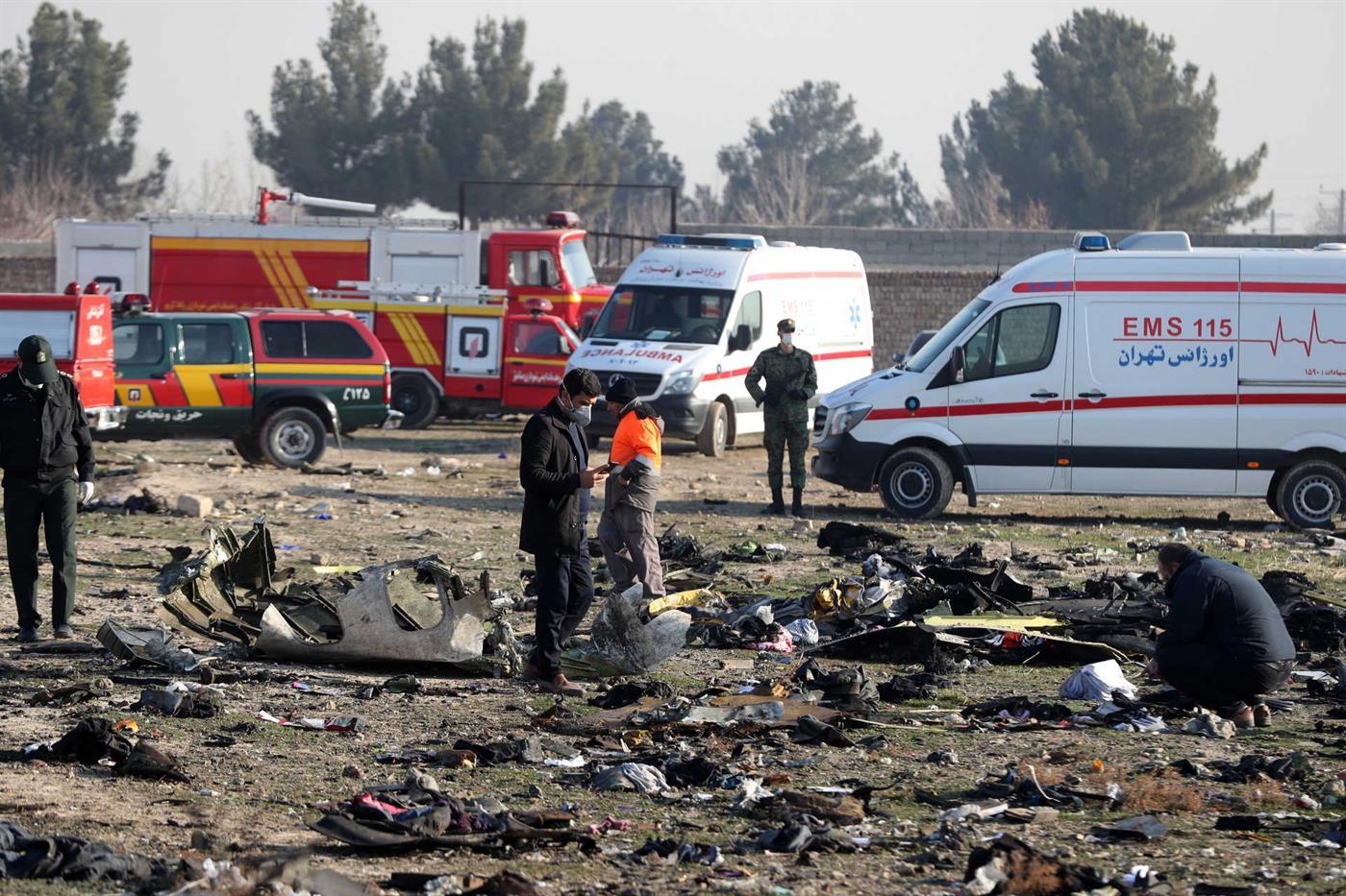 Resultado de imagem para Irão recusa devolver caixas negras do avião ucraniano que se despenhou