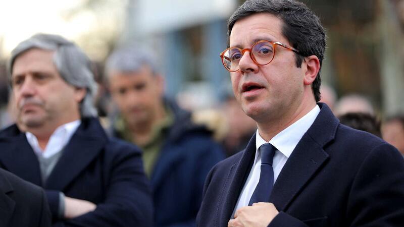 O secretário de Estado da Juventude e Desporto, João Paulo Rebelo