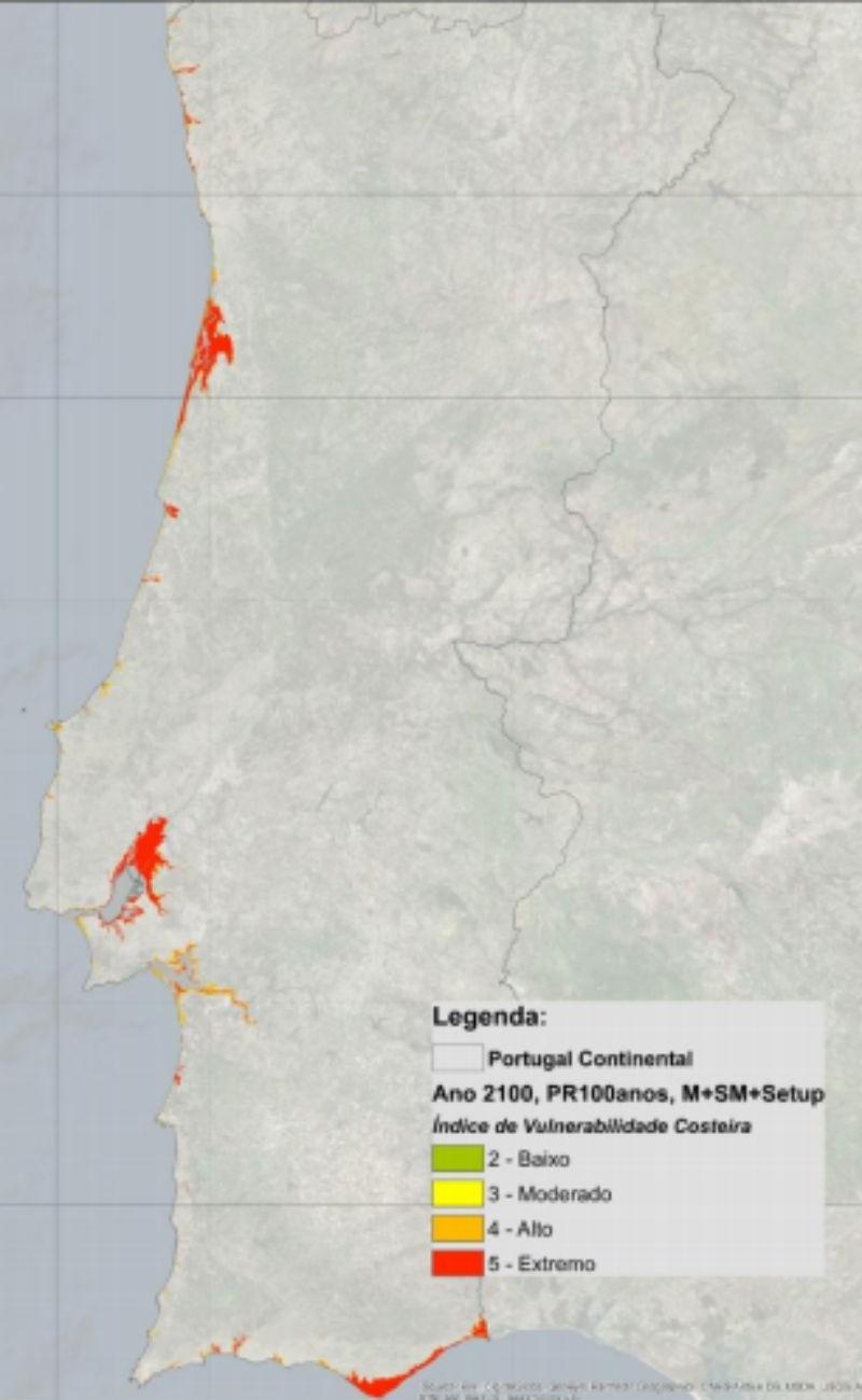 Clima: Base Aérea do Montijo é vulnerável à subida do nível médio do mar