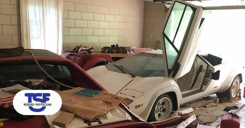 Lamborghini Countach And Ferrari 308 Found In A Garage